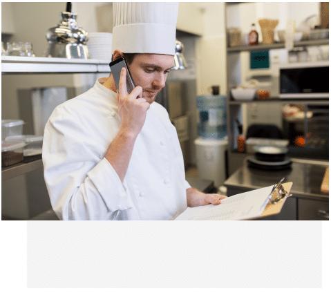 Téléphonie pro pour restaurant