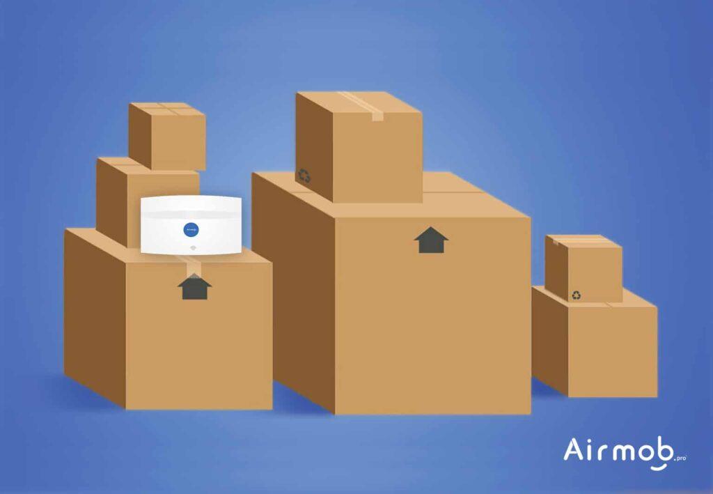 Le déménagement de vos locaux avec AIRMOB